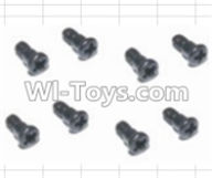 HBX 12881 VORTEX Parts-Steering Hub Step Screws(8pcs) Parts-16014,HaiBoXing HBX 12881 VORTEX RC Car Parts