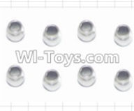 HBX 12881 VORTEX Parts-Anti-Shock Ball Head(8pcs) Parts-H001,HaiBoXing HBX 12881 VORTEX RC Car Parts