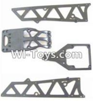 HBX 12882P ONSLAUGHT Parts-Parts-Front side panel & motor cover & upper Steering seat Parts-12002P,HaiBoXing HBX 12882P ONSLAUGHT RC Car Parts