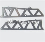 HBX 12882P ONSLAUGHT Parts-Parts-Aluminum Alloy Chassis Side Plates A Parts-12210,HaiBoXing HBX 12882P ONSLAUGHT RC Car Parts
