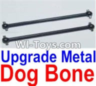 HBX 12882P ONSLAUGHT Parts-Upgrade Metal drive shaft,dog bong(2pcs) Parts-12220,HaiBoXing HBX 12882P ONSLAUGHT RC Car Parts