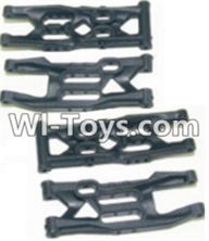 HBX 12882P ONSLAUGHT Parts-Front Bottom And Rear Bottom Suspension Arms,Front Bottom And Rear Bottom Swing Arm(Total 4PCS) Parts-12004,HaiBoXing HBX 12882P ONSLAUGHT RC Car Parts