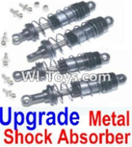HBX 12882P ONSLAUGHT Parts-Upgrade shock absorber Parts-Front and Rear Metal hydraulic shock absorber(4pcs)-12203+12204,HaiBoXing HBX 12882P ONSLAUGHT RC Car Parts
