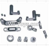 HBX 12882P ONSLAUGHT Parts-Parts-Steering Assembly & Servo Saver Assembly & Battery Door Block,Battery Door Lock Parts-12009P,HaiBoXing HBX 12882P ONSLAUGHT RC Car Parts