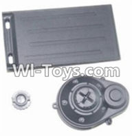 HBX 12882P ONSLAUGHT Parts-Parts-Battery Door & Motor Gear Cover Parts-12012,HaiBoXing HBX 12882P ONSLAUGHT RC Car Parts