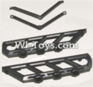 HBX 12882P ONSLAUGHT Parts-Side plate bracket Parts-12051,HaiBoXing HBX 12882P ONSLAUGHT RC Car Parts