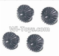 HBX 12882P ONSLAUGHT Parts-Differential hardware gear(4pcs) Parts-12019P,HaiBoXing HBX 12882P ONSLAUGHT RC Car Parts