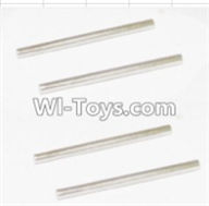 HBX 12882P ONSLAUGHT Parts-Rear Bottom Suspension Arms Pin(4pcs)-2.5X37.6mm Parts-12023,HaiBoXing HBX 12882P ONSLAUGHT RC Car Parts