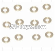 HBX 12882P ONSLAUGHT Parts-Copper Washers(16pcs)-2.5X5.5X0.5MM Parts-12029,HaiBoXing HBX 12882P ONSLAUGHT RC Car Parts