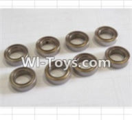 HBX 12882P ONSLAUGHT Parts-ball bearing(8pcs)-7.95x13x3.5mm Parts-79513,HaiBoXing HBX 12882P ONSLAUGHT RC Car Parts