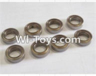 HBX 12882P ONSLAUGHT Parts-ball bearing(8pcs)-5x9x3mm Parts-59300,HaiBoXing HBX 12882P ONSLAUGHT RC Car Parts