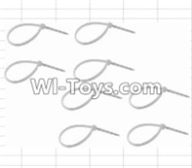 HBX 12882P ONSLAUGHT Parts-Zip Ties-Small(8pcs) Parts-P011,HaiBoXing HBX 12882P ONSLAUGHT RC Car Parts