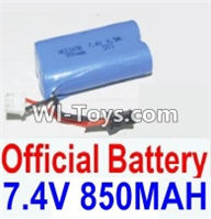 HBX 12882P ONSLAUGHT Parts-Battery Parts-Official 7.4V 850mah Battery(1pcs) Parts-12032N,HaiBoXing HBX 12882P ONSLAUGHT RC Car Parts