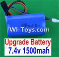 HBX 12882P ONSLAUGHT Parts-Battery Parts-Upgrade 7.4V 1500MAH Battery(1pcs) Parts-12225,HaiBoXing HBX 12882P ONSLAUGHT RC Car Parts