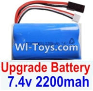 HBX 12882P ONSLAUGHT Parts-Battery Parts- Upgrade 7.4V 2200mah Battery(1pcs) Parts-,HaiBoXing HBX 12882P ONSLAUGHT RC Car Parts