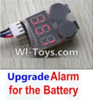 HBX 12882P ONSLAUGHT Parts-Battery Parts- Upgrade Alarm for the Battery,Can test whether your battery has enouth power Parts-,HaiBoXing HBX 12882P ONSLAUGHT RC Car Parts
