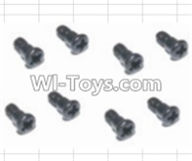 HBX 12882P ONSLAUGHT Parts-Steering Hub Step Screws(8pcs) Parts-16014,HaiBoXing HBX 12882P ONSLAUGHT RC Car Parts