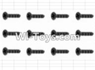 HBX 12882P ONSLAUGHT Parts-Screws Parts-Countersunk Screw(12pcs)-3X10mm Parts-S062,HaiBoXing HBX 12882P ONSLAUGHT RC Car Parts
