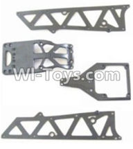 HBX 12883 GROUND CRUSHER Parts-Front side panel & motor cover & upper Steering seat Parts-12002P,HaiBoXing HBX 12883 RC Car Parts