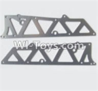 HBX 12883 GROUND CRUSHER Parts-Aluminum Alloy Chassis Side Plates A Parts-12210,HaiBoXing HBX 12883 RC Car Parts