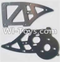 HBX 12883 GROUND CRUSHER Parts-Aluminum Alloy Chassis Side Plates B Parts-12211,HaiBoXing HBX 12883 RC Car Parts
