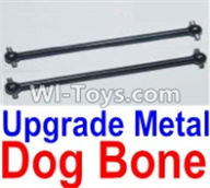 HBX 12883 GROUND CRUSHER Parts-Upgrade Metal drive shaft,dog bong(2pcs) Parts-12220,HaiBoXing HBX 12883 RC Car Parts
