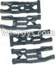 HBX 12883 GROUND CRUSHER Parts-Front Bottom And Rear Bottom Suspension Arms,Front Bottom And Rear Bottom Swing Arm(Total 4PCS) Parts-12004,HaiBoXing HBX 12883 RC Car Parts