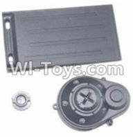 HBX 12883 GROUND CRUSHER Parts-Battery Door & Motor Gear Cover Parts-12012,HaiBoXing HBX 12883 RC Car Parts