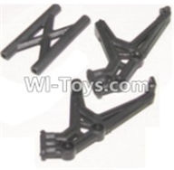HBX 12883 GROUND CRUSHER Parts-Tail wing bracket Parts-12050,HaiBoXing HBX 12883 RC Car Parts
