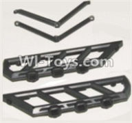 HBX 12883 GROUND CRUSHER Parts-Side plate bracket Parts-12051,HaiBoXing HBX 12883 RC Car Parts