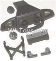 HBX 12883 GROUND CRUSHER Parts-Front or Rear Anti-collision frame Parts-12053,HaiBoXing HBX 12883 RC Car Parts