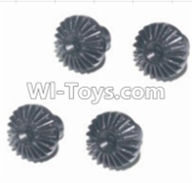 HBX 12883 GROUND CRUSHER Parts-Differential hardware gear(4pcs) Parts-12019P,HaiBoXing HBX 12883 RC Car Parts