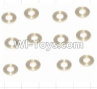HBX 12883 GROUND CRUSHER Parts-Copper Washers(16pcs)-2.5X5.5X0.5MM Parts-12029,HaiBoXing HBX 12883 RC Car Parts