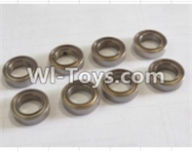 HBX 12883 GROUND CRUSHER Parts-ball bearing(8pcs)-5x9x3mm Parts-59300,HaiBoXing HBX 12883 RC Car Parts