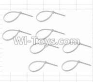 HBX 12883 GROUND CRUSHER Parts-Zip Ties-Small(8pcs) Parts-P011,HaiBoXing HBX 12883 RC Car Parts