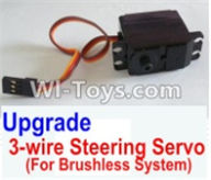 HBX 12883 GROUND CRUSHER Parts-Upgrade Brushless 3-wire Steering Servo Parts-12224,HaiBoXing HBX 12883 RC Car Parts