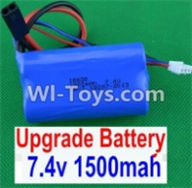 HBX 12883 GROUND CRUSHER Parts-Battery Parts-Upgrade 7.4V 1500MAH Battery(1pcs) Parts-12225,HaiBoXing HBX 12883 RC Car Parts