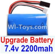 HBX 12883 GROUND CRUSHER Parts-Battery Parts-Upgrade 7.4V 2200mah Battery(1pcs) Parts-,HaiBoXing HBX 12883 RC Car Parts