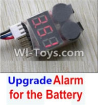 HBX 12883 GROUND CRUSHER Parts-Upgrade Alarm for the Battery,Can test whether your battery has enouth power Parts-,HaiBoXing HBX 12883 RC Car Parts
