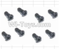 HBX 12883 GROUND CRUSHER Parts-Steering Hub Step Screws(8pcs) Parts-16014,HaiBoXing HBX 12883 RC Car Parts