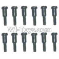 HBX 12883 GROUND CRUSHER Parts-Screws Parts-Step Screws(12pcs)-3.5X4.5-3X4.6mm Parts-S152,HaiBoXing HBX 12883 RC Car Parts