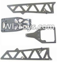 HBX 12885 Iron Hammer Parts-Front side panel & motor cover & upper Steering seat Parts-12002P,HaiBoxing HBX 12885 Iron Hammer RC Car Spare Parts