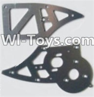 HBX 12885 Iron Hammer Parts-Aluminum Alloy Chassis Side Plates B Parts-12211,HaiBoxing HBX 12885 Iron Hammer RC Car Spare Parts