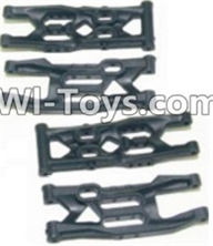 HBX 12885 Iron Hammer Parts-Front Bottom And Rear Bottom Suspension Arms,Front Bottom And Rear Bottom Swing Arm(Total 4PCS) Parts-12004,HaiBoxing HBX 12885 Iron Hammer RC Car Spare Parts