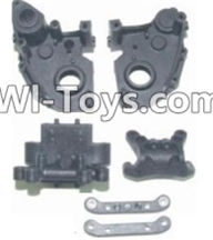 HBX 12885 Iron Hammer Parts-Gear Case & Suspension Mount Parts-12005P,HaiBoxing HBX 12885 Iron Hammer RC Car Spare Parts