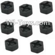 HBX 12885 Iron Hammer Parts-Hexagon Wheel Seat(8pcs) Parts-12010,HaiBoxing HBX 12885 Iron Hammer RC Car Spare Parts