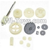 HBX 12885 Iron Hammer Parts-Spur Gear & Differential Gears Assembly Parts-12011P,HaiBoxing HBX 12885 Iron Hammer RC Car Spare Parts
