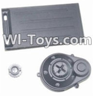HBX 12885 Iron Hammer Parts-Battery Door & Motor Gear Cover Parts-12012,HaiBoxing HBX 12885 Iron Hammer RC Car Spare Parts