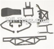 HBX 12885 Iron Hammer Parts-Anti-collision frame Assembly Parts-12061,HaiBoxing HBX 12885 Iron Hammer RC Car Spare Parts