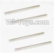 HBX 12885 Iron Hammer Parts-Rear Bottom Suspension Arms Pin(4pcs)-2.5X37.6mm Parts-12023,HaiBoxing HBX 12885 Iron Hammer RC Car Spare Parts